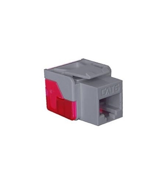 Picture of ICC-CAT6JACK-GY IC1078L6GY - Cat6 Jack - Gray