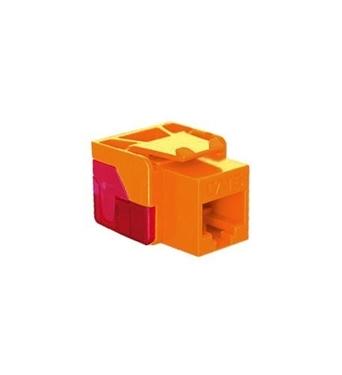 Picture of ICC-CAT6JACK-OR IC1078L6OR - Cat6 Jack - Orange
