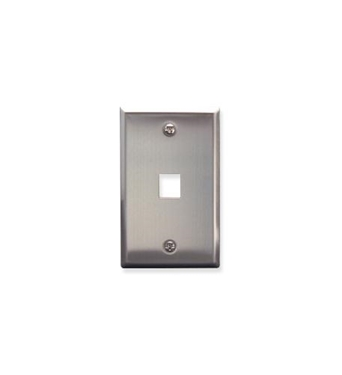 Picture of ICC-FACE-1-SS IC107SF1SS- 1Port Face - Stainless Steel
