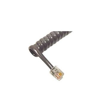 Picture of ICC-ICHC406FDG GCHA444006-FDG/ 6' Med Gray Handset Cord