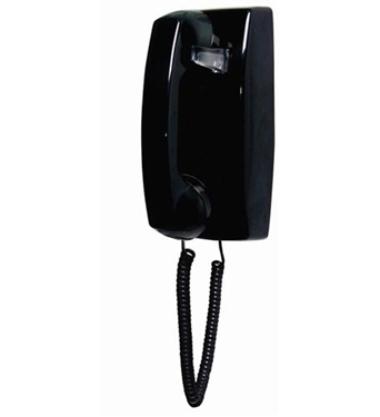 Picture of ITT-2554NDL-BK 255400-VBA-NDL Black wall no dial