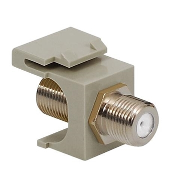 Picture of ICC-IC107B5FGY MODULE, F-TYPE, NICKEL PLATED, GRAY