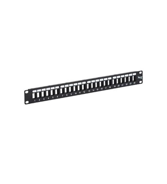 Picture of ICC-IC107BP241 PATCH PANEL, BLANK, HD, 24-PORT, 1 RMS