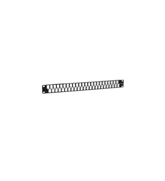 Picture of ICC-IC107BP481 PATCH PANEL, BLANK, 48-PORT, HD, 1 RMS