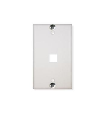 Picture of ICC-IC107FFWWH WALL PLATE, PHONE, FLUSH, 1-PORT, WHITE