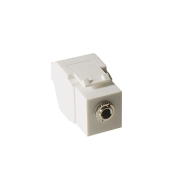 Picture of ICC-IC107SAPWH MODULE, STEREO AUDIO, 3.5 MM, WHITE