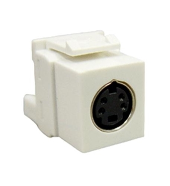Picture of ICC-IC107SVIWH MODULE, S-VIDEO IDC, WHITE