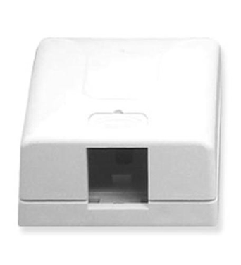 Picture of ICC-IC108SB1WH SURFACE MOUNT BOX, ELITE, 1-PORT, WHITE