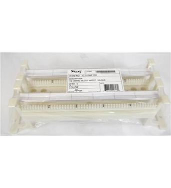 Picture of ICC-IC110WF100 110 WIRING BLOCK W/ FT, 100-PAIR, CAT 5e