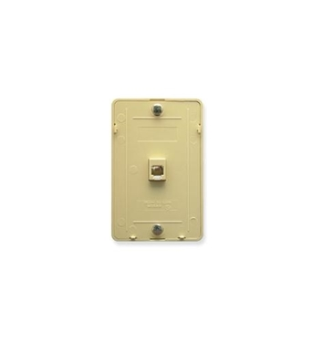 Picture of ICC-IC630DB6IV Wall Plate IDC 6P6C IVORY