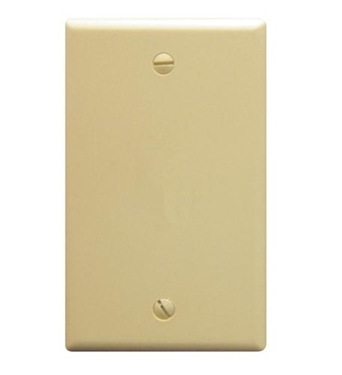 Picture of ICC-IC630EB0IV Flush Wall Plate Blank IVORY