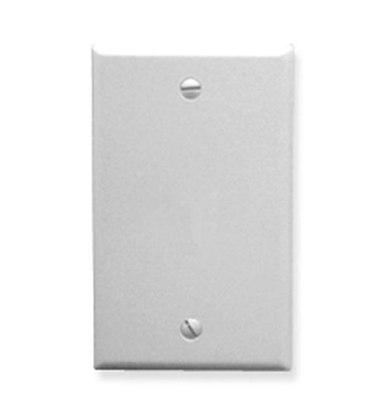 Picture of ICC-IC630EB0WH Flush Wall Plate Blank WHITE