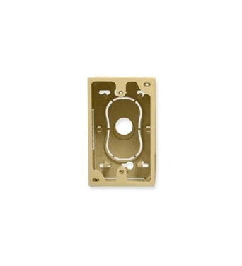 Picture of ICC-ICACSMBSIV JUNCTION BOX, 1-GANG, IVORY