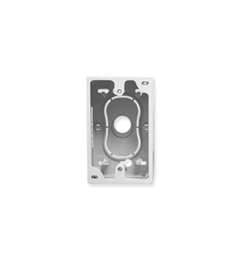 Picture of ICC-ICACSMBSWH JUNCTION BOX, 1-GANG, WHITE