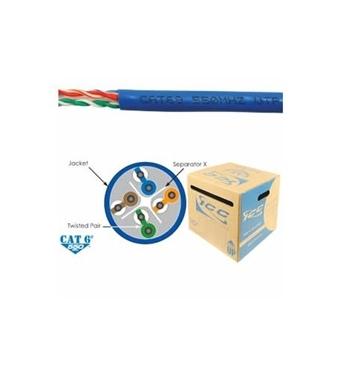 Picture of ICC-ICCABR6EBL CAT6e CMR PVC Cable Blue