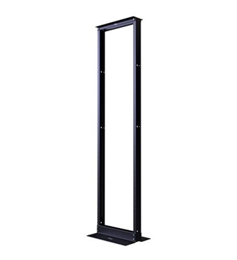 Picture of ICC-ICCMSR1984 DISTRIBUTION RACK BLACK 7ft 45 RMS