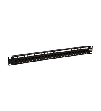 Picture of ICC-ICMPP24CP5 PATCH PANEL,CAT 5e, FEED-THRU 24-P,1RMS
