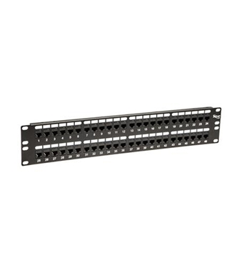 Picture of ICC-ICMPP48CP5 PATCH PANEL,CAT 5e, FEED-THRU 48-P,2RMS