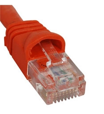 Picture of ICC-ICPCSJ03OR PATCH CORD, CAT 5e, MOLDED BOOT, 3' OR