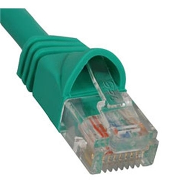 Picture of ICC-ICPCSJ05GN PATCH CORD, CAT 5e, MOLDED BOOT, 5' GN