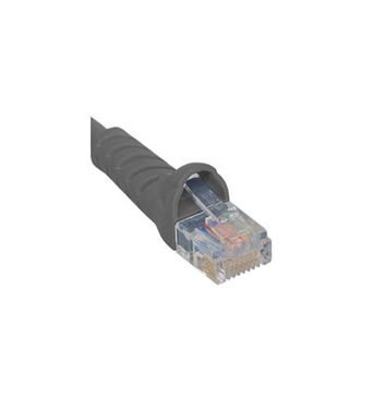 Picture of ICC-ICPCSJ05GY PATCH CORD, CAT 5e, MOLDED BOOT, 5' GY
