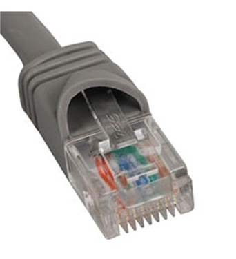 Picture of ICC-ICPCSJ07GY PATCH CORD, CAT 5e, MOLDED BOOT, 7' GY