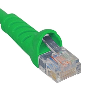 Picture of ICC-ICPCSJ10GN PATCH CORD, CAT 5e, MOLDED BOOT, 10' GN