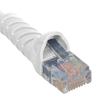 Picture of ICC-ICPCSJ14WH PATCH CORD, CAT 5e, MOLDED BOOT, 14' WH