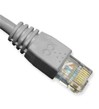 Picture of ICC-ICPCSK03GY PATCH CORD, CAT 6, MOLDED BOOT, 3' GY
