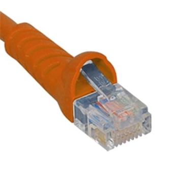 Picture of ICC-ICPCSK03OR Patch Cord, CAT 6, Molded Boot, 3' OR