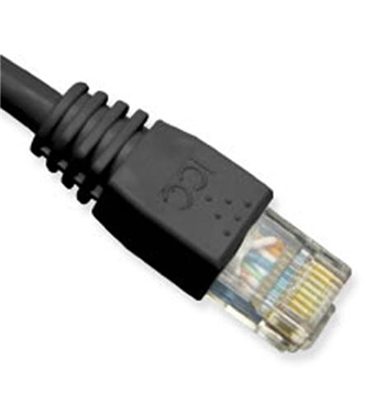 Picture of ICC-ICPCSK05BK PATCH CORD CAT6 BOOT 5' BLACK