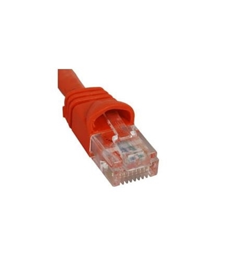 Picture of ICC-ICPCSK05OR PATCH CORD CAT6 BOOT 5' ORANGE
