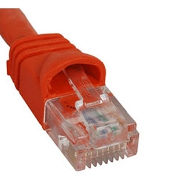 Picture of ICC-ICPCSK10OR PATCH CORD, CAT 6, MOLDED BOOT, 10' OR