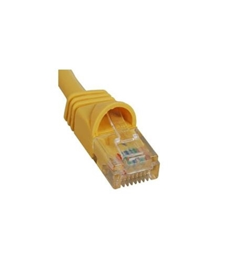 Picture of ICC-ICPCSK14YL PATCH CORD, CAT 6, MOLDED BOOT, 14' YL