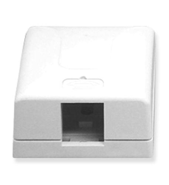 Picture of ICC-SURFACE-1WH IC107SB1WH - SURFACE BOX 1PT White