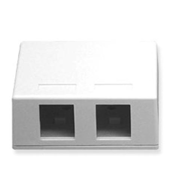 Picture of ICC-SURFACE-2WH IC107SB2WH - SURFACE BOX 2PT White