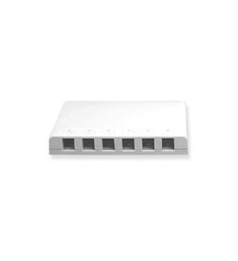 Picture of ICC-SURFACE6WH IC107SB6WH - 6Pt Surface Box - White