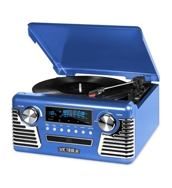 Picture of INN-V50-200-BLU Bluetooth Stereo Turntable with CD