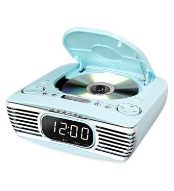 Picture of INN-V50-250-TRQ Bluetooth Bedside Stereo, CD, FM, Teal