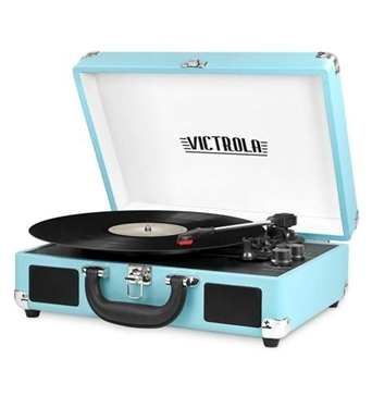 Picture of INN-VSC-550BT-TRQ Bluetooth Suitcase Turntable in Turquois