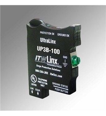Picture of ITW-UP3B-100 UltraLinx 66 Block 100V Clamp 350mA Fuse
