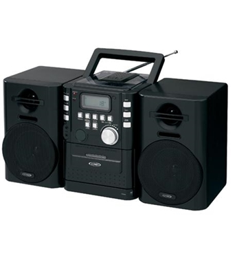 Picture of JEN-CD-725 Portable CD Music System with Cassete/FM
