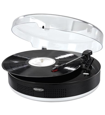 Picture of JEN-JTA-455 3-Speed Stereo Turntable with Bluetooth