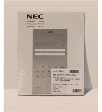 Picture of NEC-1100066 Q24-FR000000112232 DESI SHEET 12 BTN