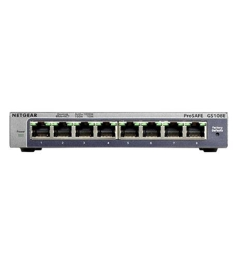 Picture of NET-GS108E-300NAS ProSafe 8 Port Gigabit Switch