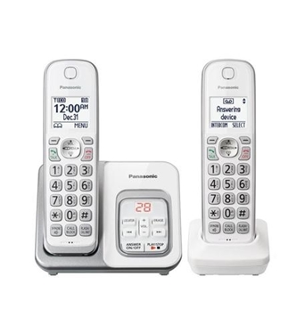 Picture of KX-TGD532W 2HS Cordless Telephone. ITAD, White
