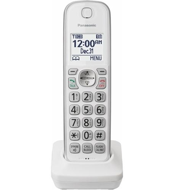 Picture of KX-TGDA50W1 Extra handset for TGD/TGC in White
