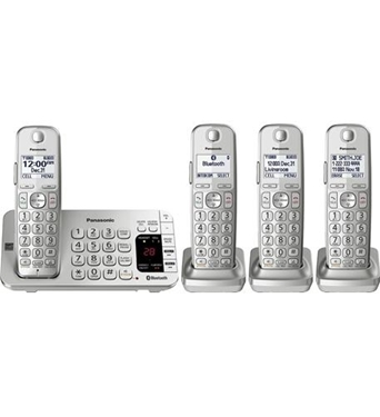 Picture of KX-TGE474S DECT Expandable Cordless 4 Handsets