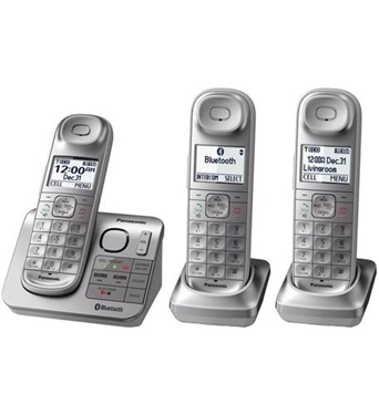 Picture of KX-TGL463S Panasonic 3 HS Cordless with ITAD, L2C