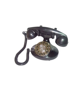 Picture of PMT-ALEXIS-BK Alexis 1922 Decorator Phone BLACK